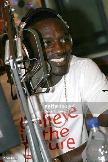 Akon during Akon Hosts Hot 937FM's Annual Summer Cookout May 22 2007 in Farmington Connecticut United States