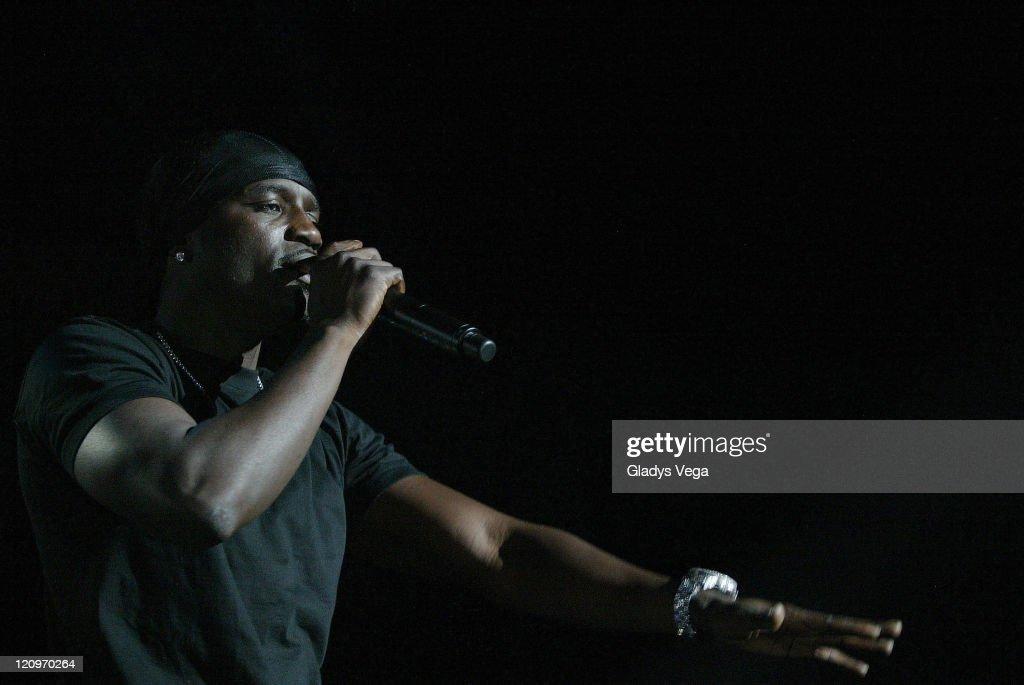 Akon during Akon