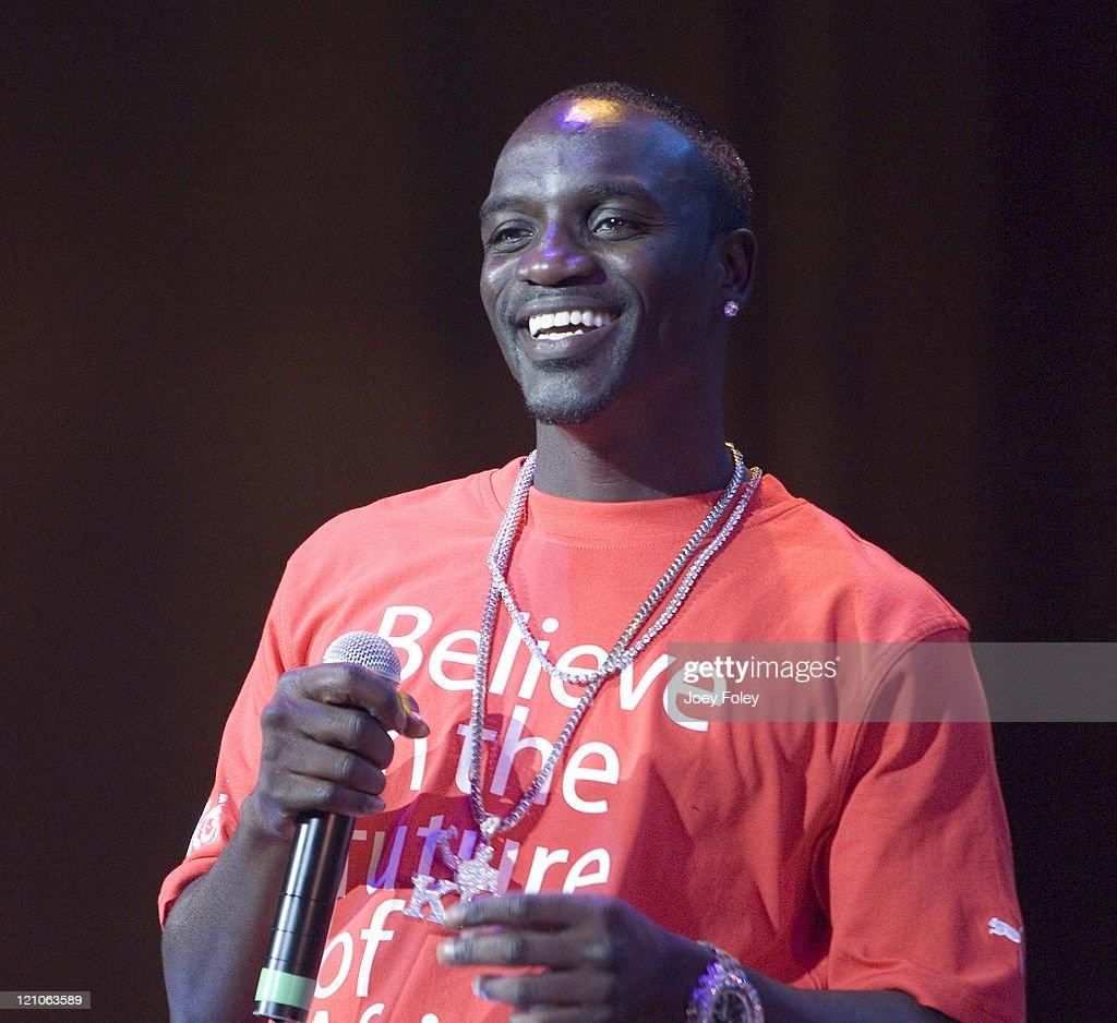 Akon during Gwen Stefani in Concert at Verizon Wireless Music Center - June 02, 2007 at Verizon Wireless Music Center in Indianapolis, Indiana, United States.