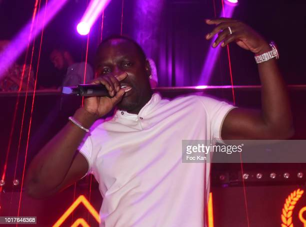 Akon preforms during the Akon Live Performance Party at VIP Room SaintTropez on August 15 2018 in SaintTropez France