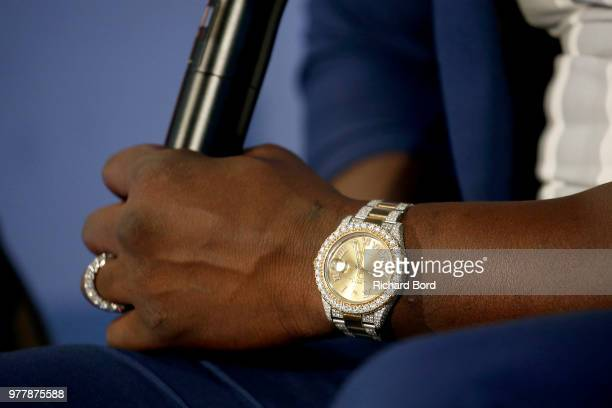 Akon watch detail talks during the GABBCON session at the Cannes Lions Festival 2018 on June 18 2018 in Cannes France
