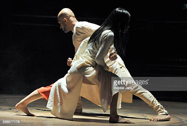 Akram Khan and ChingYing Chien in the Akram Khan Company's production of Akram Khan's Until The Lions at the Roundhouse in London