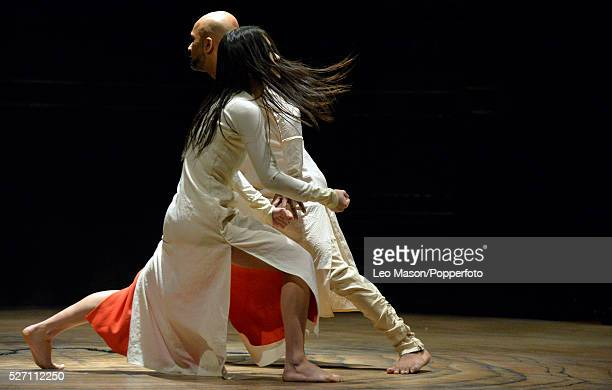 Akram Khan Company UNTIL THE LIONS at Roundhouse London UK Performed by Akram Knan ChingYing Chiem Christine Joy Ritter