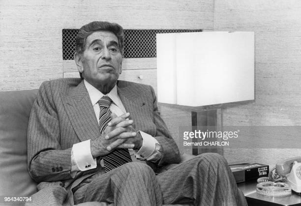 Akram Ojjeh en novembre 1972 à Paris France