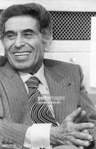 Akram Ojjeh milliardaire saoudien à Paris le 28 novembre 1977 France