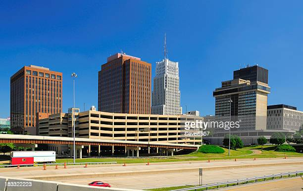 Akron, OH downtown skyline