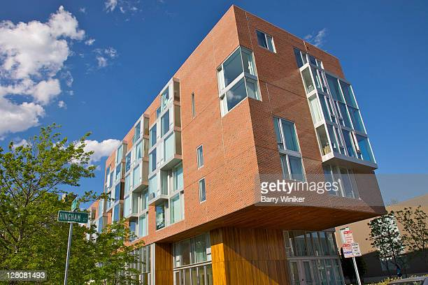 10 akron street, cambridge, massachusetts, usa - cambridge massachusetts stock pictures, royalty-free photos & images
