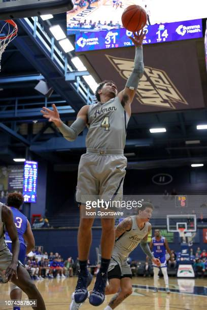 Akron Zips guard Tyler Cheese grabs a rebound during the first half of the college basketball game between the Tennessee State Tigers and Akron Zips...