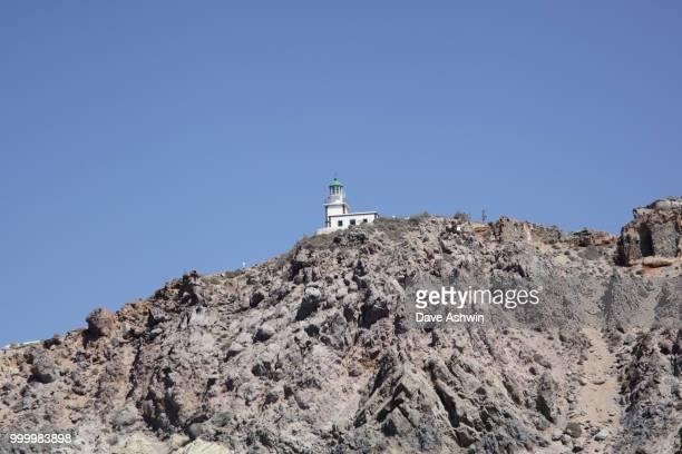 Akrotiri Lighthouse Santorini Greece