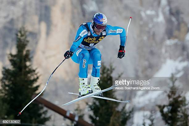 Aksel Lund Svindal of Norway competes during the Audi FIS Alpine Ski World Cup Men's Downhill on December 17, 2016 in Val Gardena, Italy