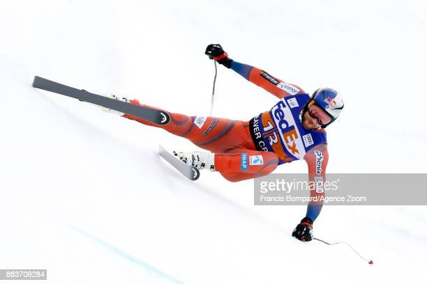 Aksel Lund Svindal of Norway competes during the Audi FIS Alpine Ski World Cup Men's Super G on December 1 2017 in Beaver Creek Colorado