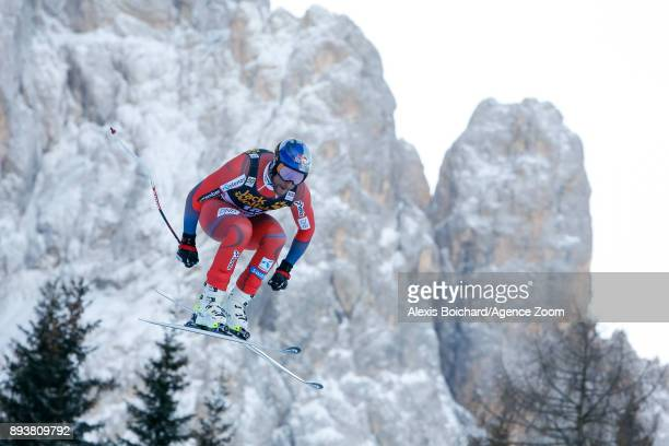 Aksel Lund Svindal of Norway competes during the Audi FIS Alpine Ski World Cup Men's Downhill on December 16 2017 in Val Gardena Italy