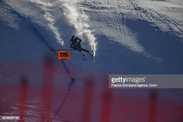 Aksel Lund Svindal of Norway in action during the Audi FIS Alpine Ski World Cup Men's Downhill Training on December 14 2016 in Val Gardena Italy