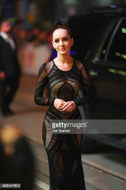 aKsenia Solo ttends the mother premiere during the 2017 Toronto International Film Festival at Princess of Wales Theatre on September 10 2017 in...
