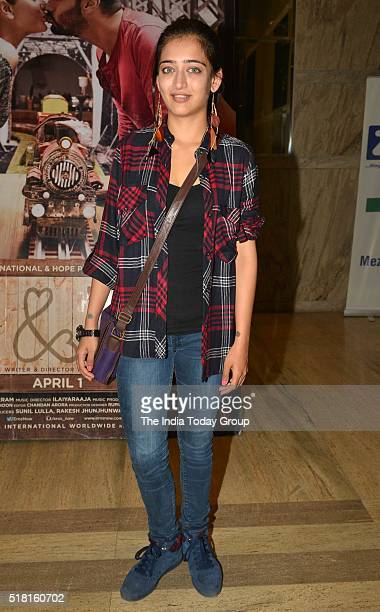 Akshara Haasan at the special screening of the movie Ki and Ka in Mumbai