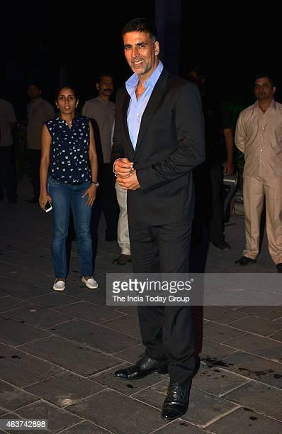 Akshay Kumar at Rahul Thackeray and DrAditi's wedding reception in Mumbai