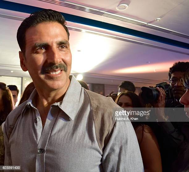Akshay Kumar at the launch of his wife Twinkle Khanna's second book The Legend of Lakshmi Prasad published by Juggernaut Books at the JW Marriott on...