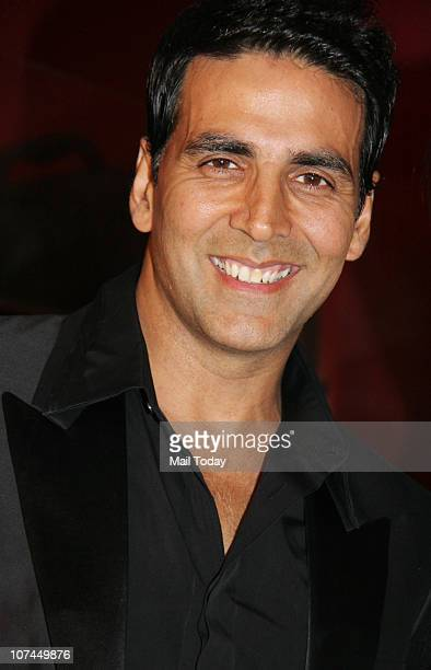 Akshay Kumar at the unveiling of all new Filmfare issue at Enigma in Mumbai