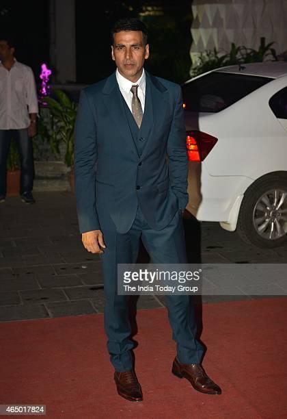 Akshay Kumar at Wedding reception of Tulsi Kumar in Mumbai