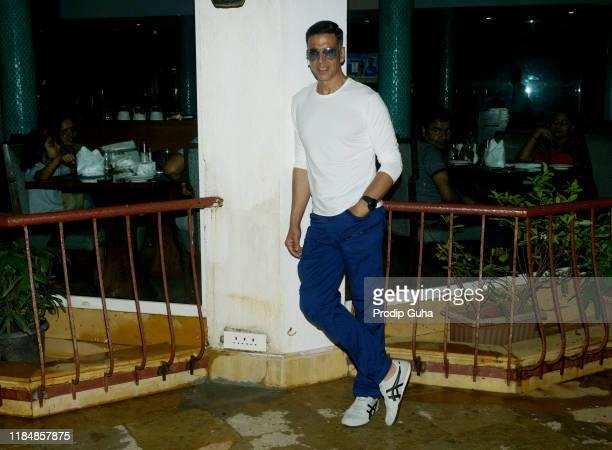 Akshay Kumar attends media interview for Housefull 4on November 01 2019 in Mumbai India