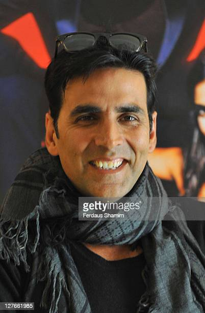 Akshay Kumar promotes new film 'Thank You' at Bentley Hotel on March 25 2011 in London England