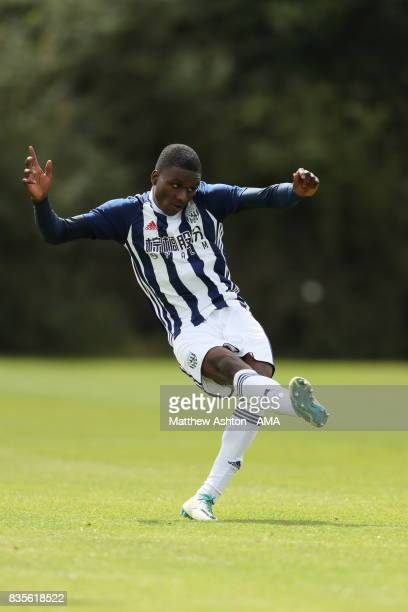 Aksum White of West Bromwich Albion during the U18 Premier League match between West Bromwich Albion and Manchester United on August 19 2017 in West...