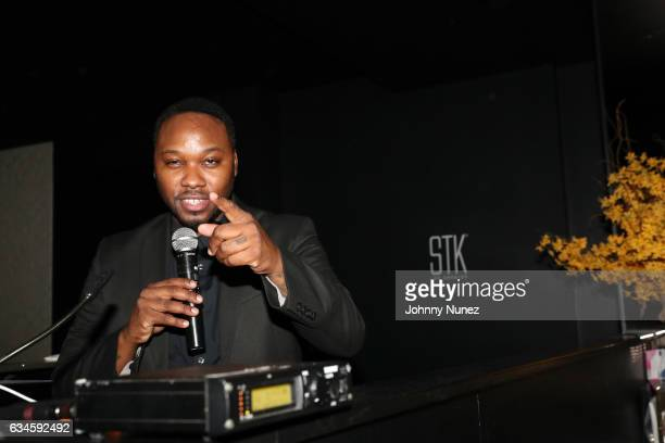 Aktive spins at the Annual PreGrammy Reception hosted by Ted Reid at STK on February 9 2017 in Los Angeles California