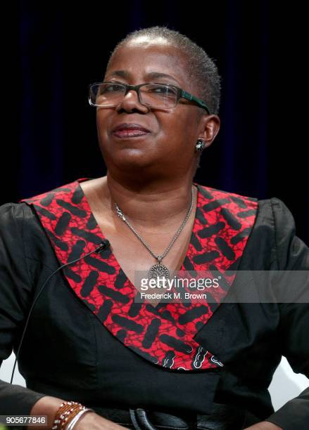 Akua F KouyateTate vice president of Education at Wolf Trap Foundation for the Performing Arts and series curriculum advisor speaks onstage during...