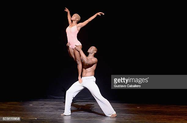 Akua Noni Parker and James Roberts performs during Adrienne Arsht 10th Anniversary Gala Concert at Adrienne Arsht Center for the Performing Arts on...