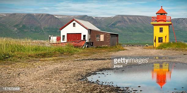 Akureyri fjord coastline landscape