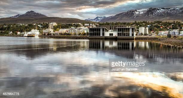 Akureyri from the Harbor