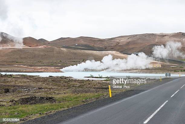 akureyri - iceland - sulfuric acid stock photos and pictures