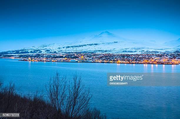 Akureyri waterfront, Iceland