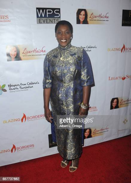 Akuyone Graham arrives for the Whispers From Children's Hearts Foundation's 3rd Legacy Charity Gala held at Casa Del Mar on March 24 2017 in Santa...