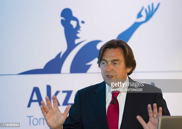 AkzoNobel's CEO Hans Weijers presents the company's results for the 2nd quarter of 2011 on July 21 in Amsterdam AkzoNobel is a global paints and...