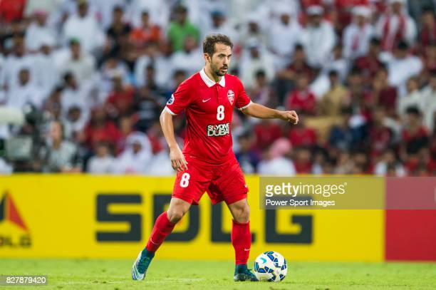 Al Ahli midfielder Everton Augusto De Barros Ribeiro in action during the AFC Champions League Final Match 1st Leg between Al Ahli vs Guangzhou...