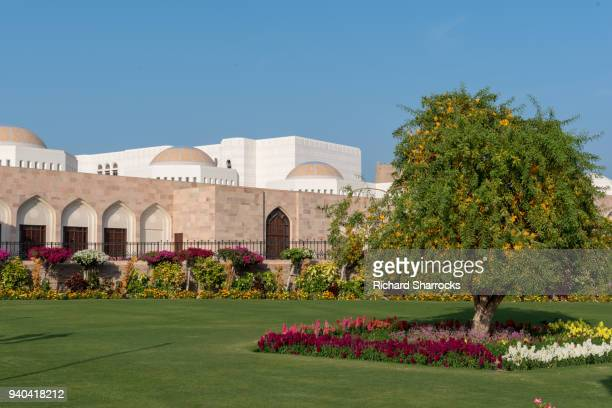 Al Alam Royal Palace extension, old Muscat, Oman