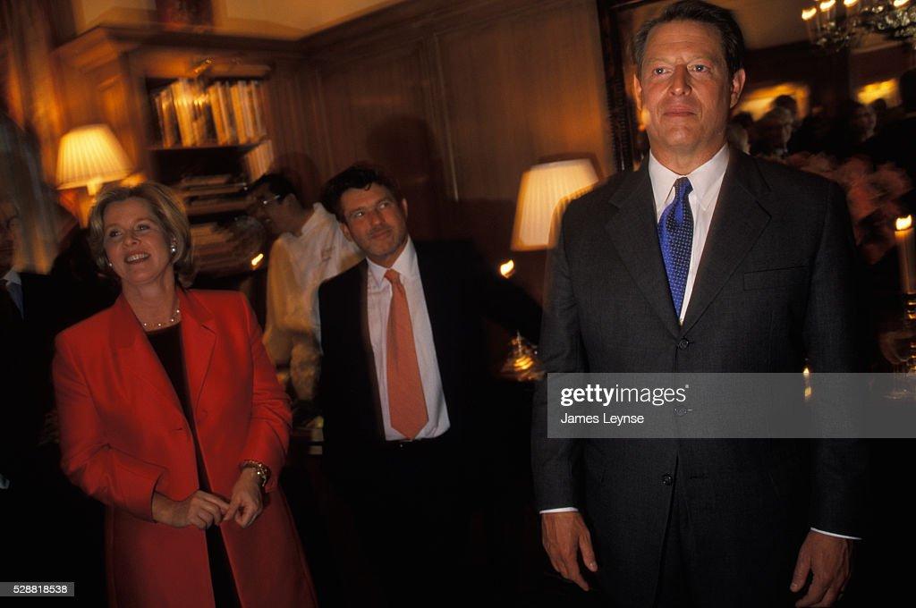 Al Gore at Weinstein Party : News Photo