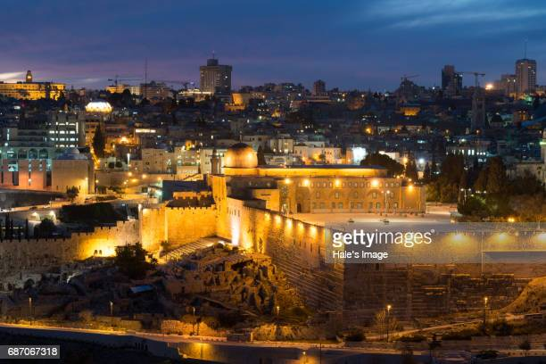 al aqsa mosque in jerusalem, israel - jerusalem old city stock pictures, royalty-free photos & images