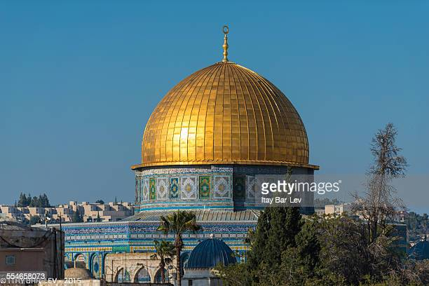 al aqsa the dome of the rock - al aqsa mosque stock pictures, royalty-free photos & images