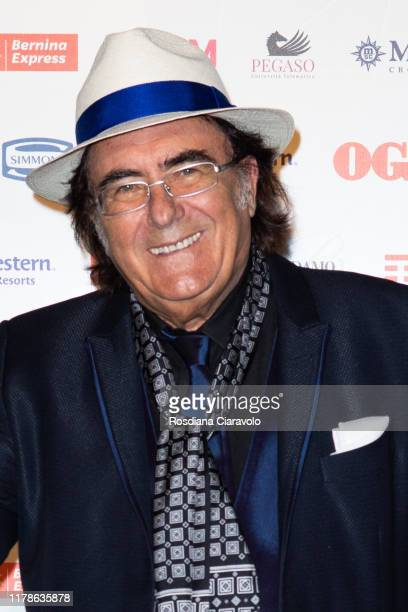 Al Bano Carrisi attends the celebrations of the 80 years of the Oggi magazine at Hotel Principe di Savoia on October 02 2019 in Milan Italy
