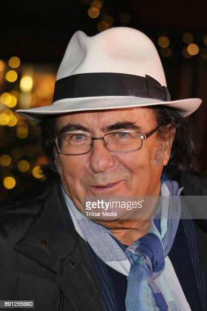Al Bano during a walk trough the Christmas Market on December 12 2017 in Hamburg Germany