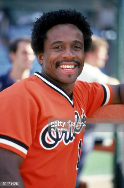Al Bumbry of the Baltimore Orioles smiles as he poses for a portrait circa 19721984