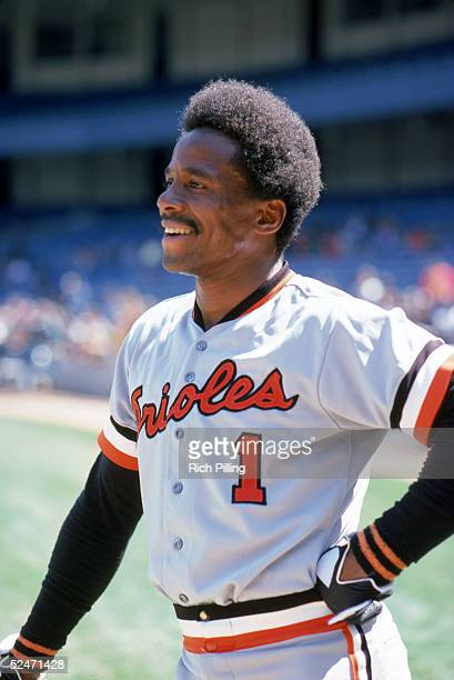 Al Bumbry of the Baltimore Orioles smiles as he poses for a portrait prior to a game in April of 1978 Al Bumbry played for the Orioles from 19721984