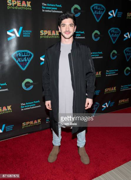 Al Calderon attends the Hello Again New York premiere at Cinepolis Chelsea on November 6 2017 in New York City