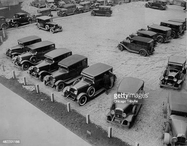 Al Capone gets in his car in the courtyard of the criminal court building in Chicago on March 22 1931 He appeared in felony court