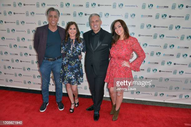 Al Eskanazy Director Elaine Del Valle and Debbie Gold from short film 'Princess Cut' and Debbie Gold are seen during 37th Annual Miami Film Festival...