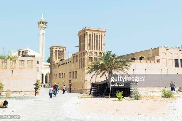 al fahidi historical district, dubai - historic district stock pictures, royalty-free photos & images