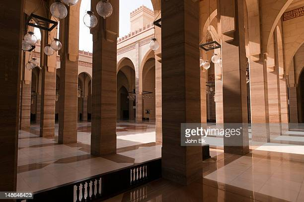 Al Fatih Mosque, courtyard.