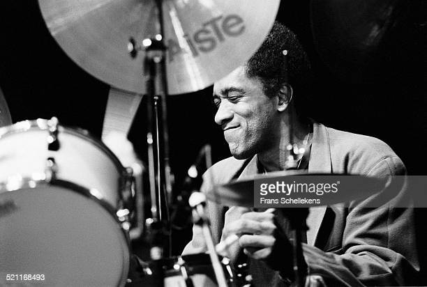 Al Foster, drums, performs at JazzMecca on October 31st 1992 in Amsterdam, Netherlands.